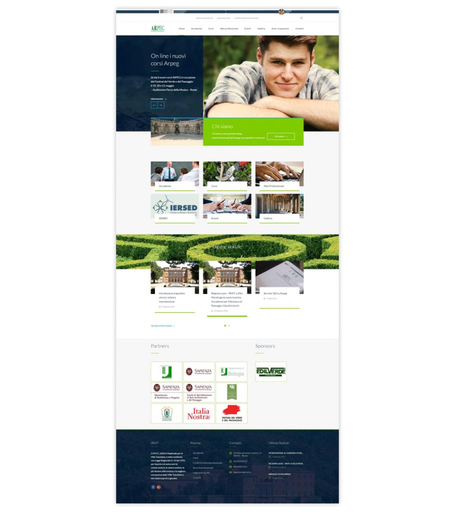 Web site – ARPEG