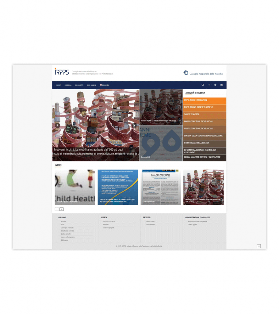 Web site – IRPPS